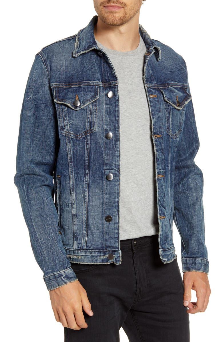 FRAME L'Homme Denim Jacket, Main, color, MISSION