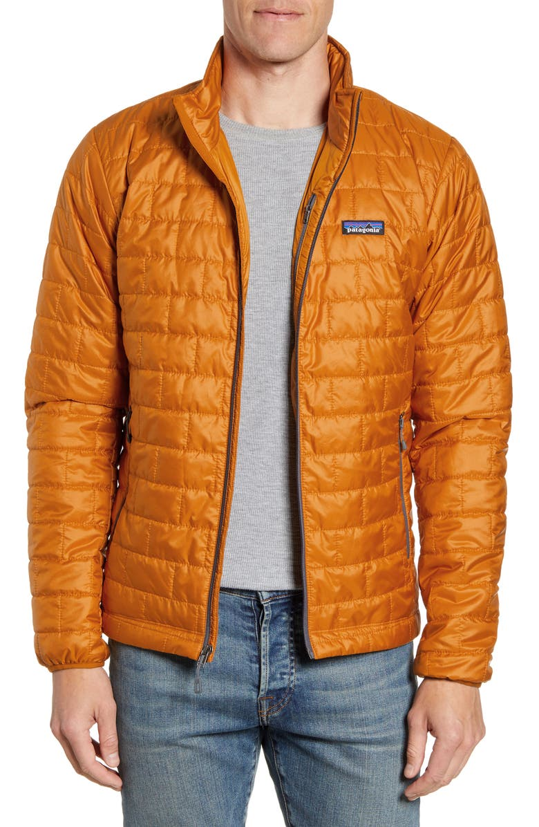 PATAGONIA Nano Puff<sup>®</sup> Water Resistant Jacket, Main, color, HAMMONDS GOLD