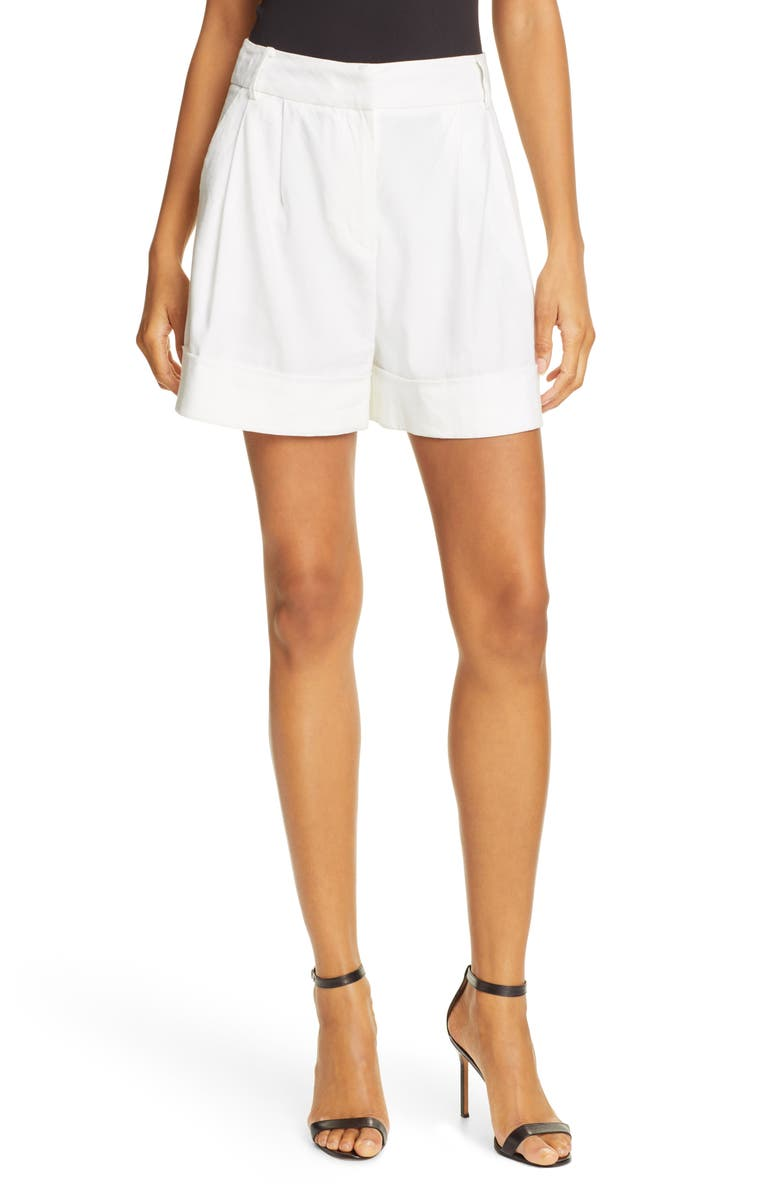 DVF Shiana Shorts, Main, color, 100