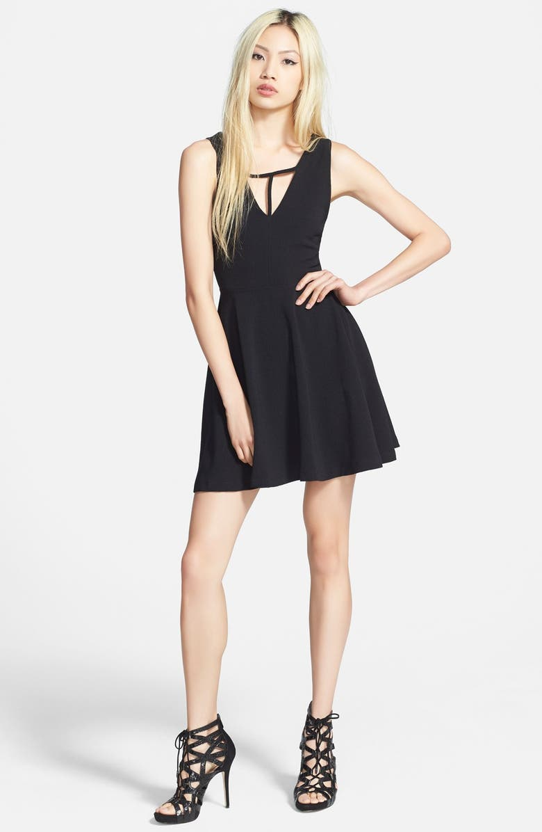 MINKPINK 'Don't Cross Me' Dress, Main, color, 001