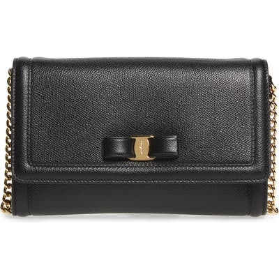 Salvatore Ferragamo Mini Vara Leather Crossbody Bag -