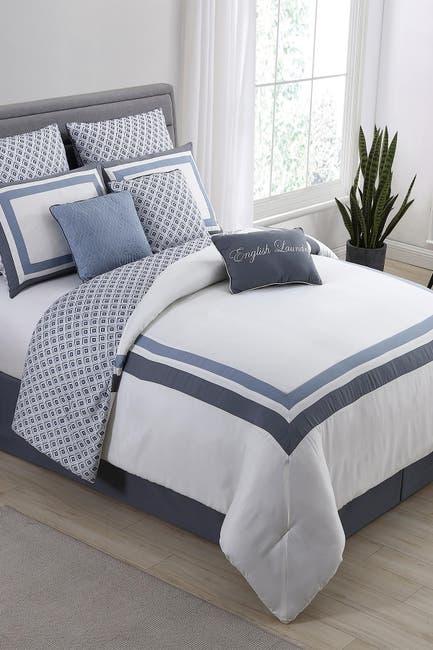 King 9 Piece Sawyer Comforter Set, English Laundry Bedding
