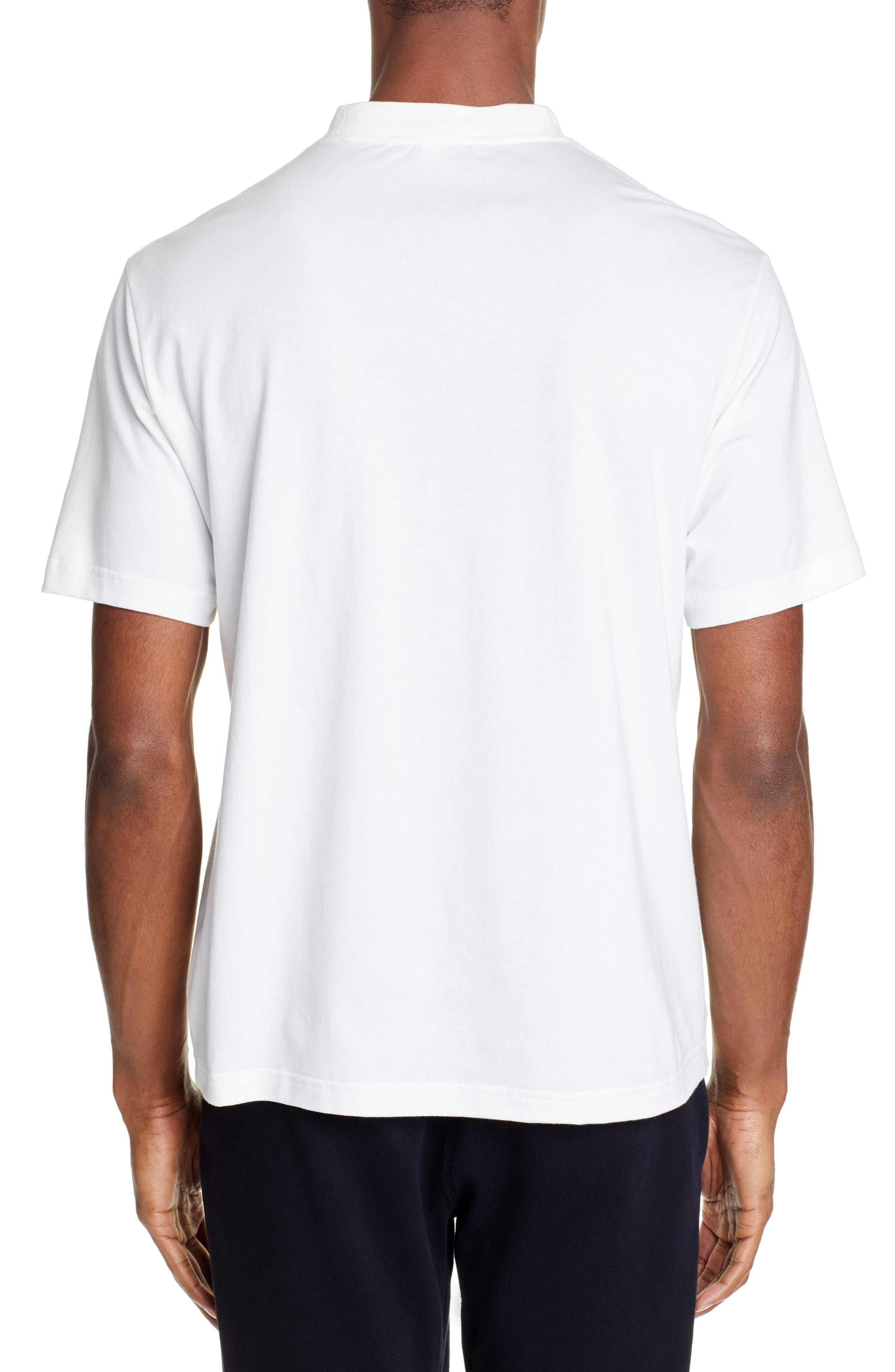 ,                             Logo T-Shirt,                             Alternate thumbnail 2, color,                             CORE WHITE