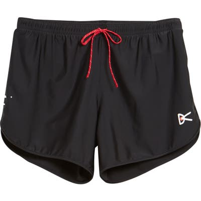 District Vision Spino Performance Shorts, Black