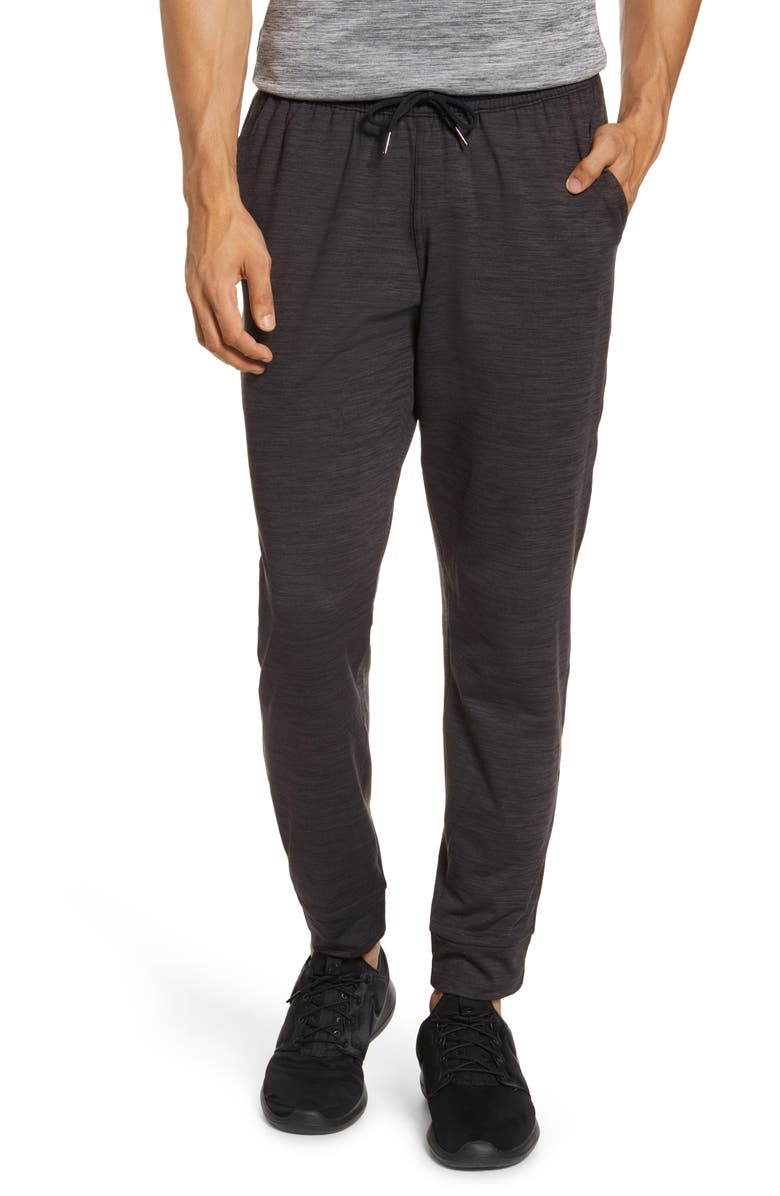 ZELLA Pyrite Slim Fit Jogger Pants, Main, color, BLACK OXIDE MELANGE