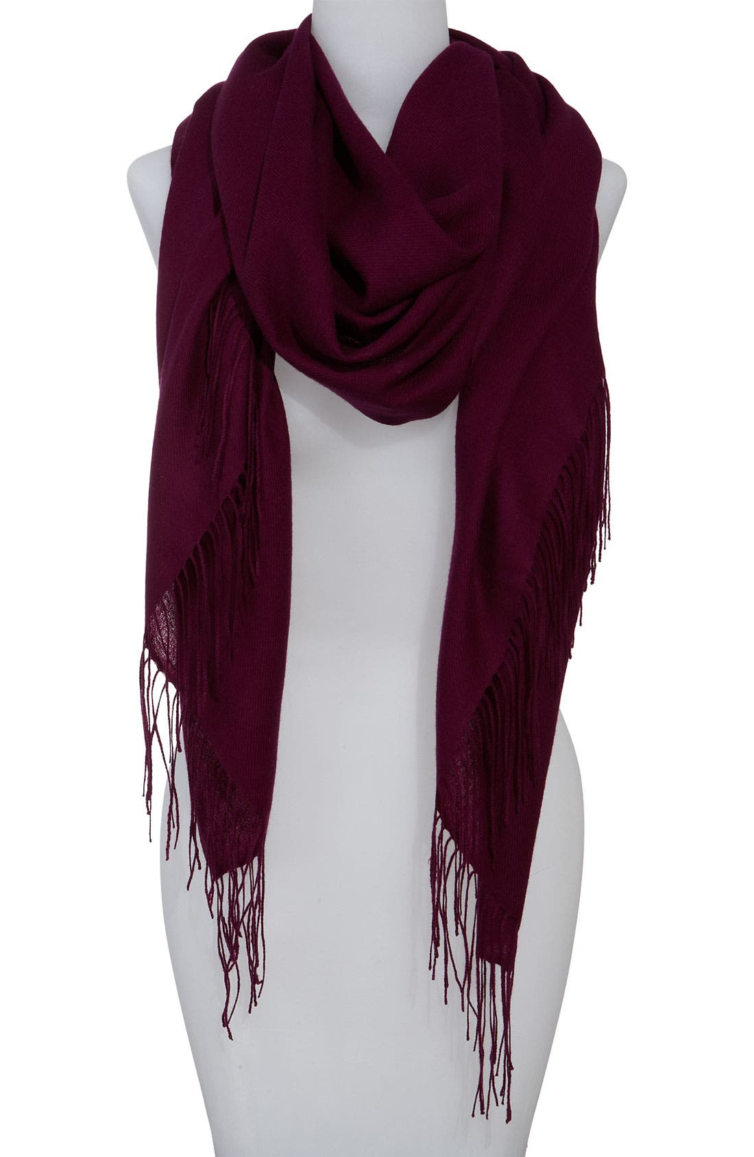 ,                             Tissue Weight Wool & Cashmere Wrap,                             Main thumbnail 129, color,                             506