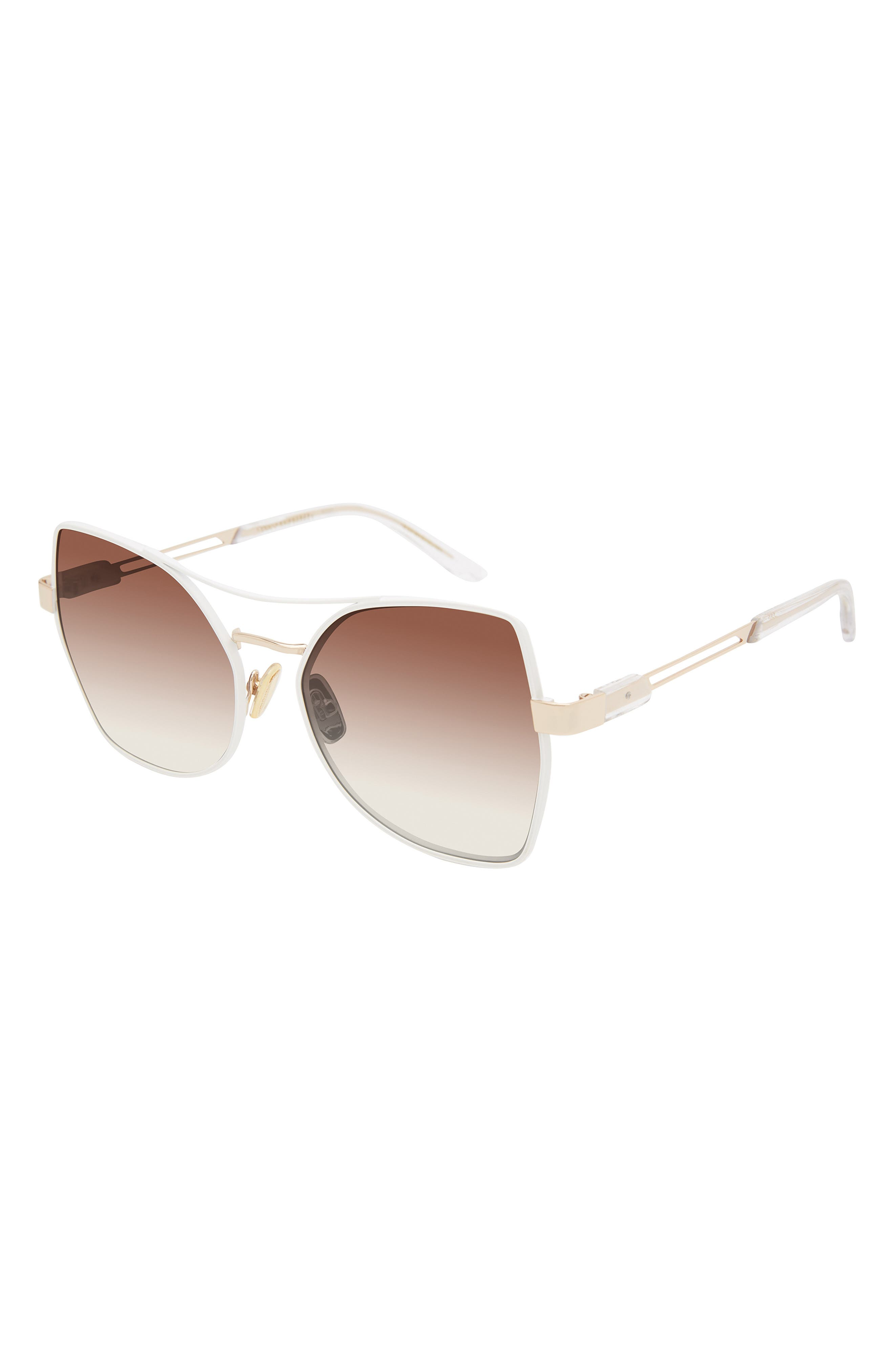Stoic 56mm Hexagon Sunglasses