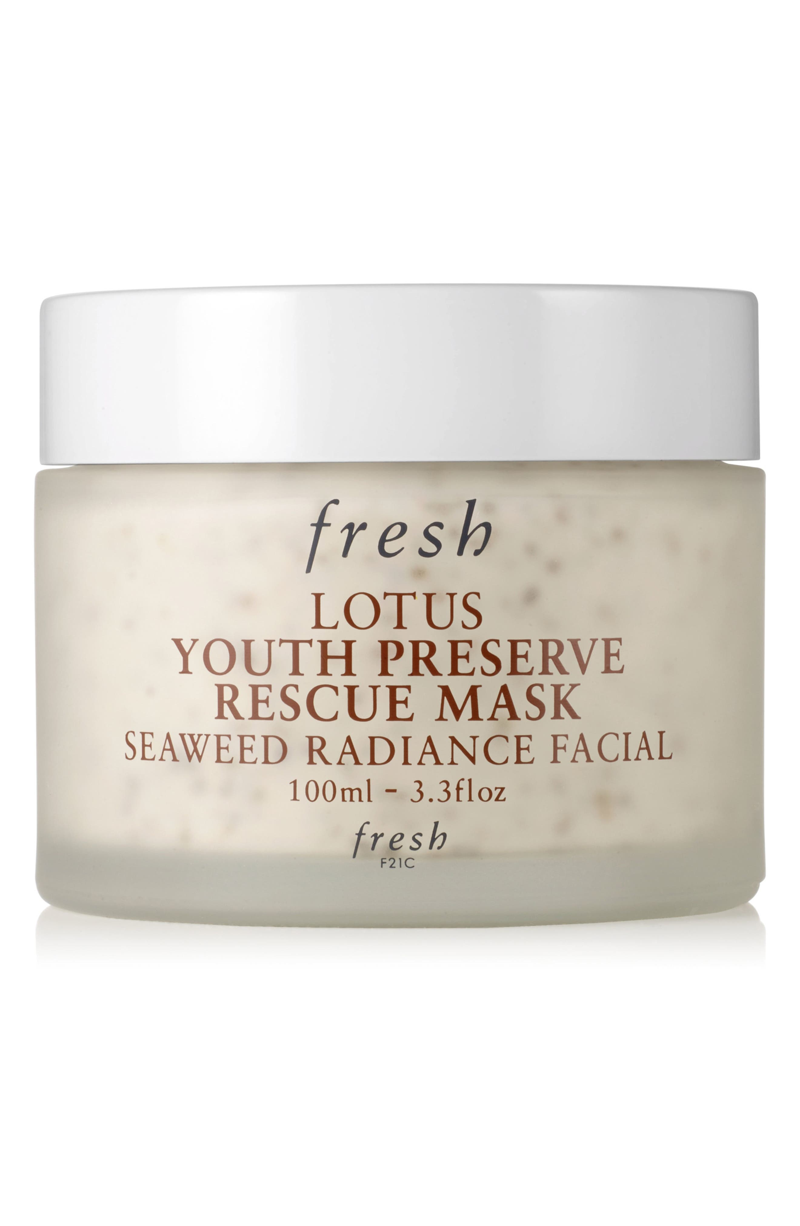 Fresh Lotus Youth Preserve Rescue Face Mask