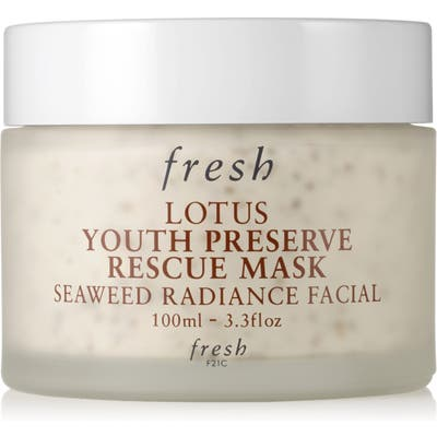 Fresh Lotus Youth Preserve Rescue Mask, .4 oz
