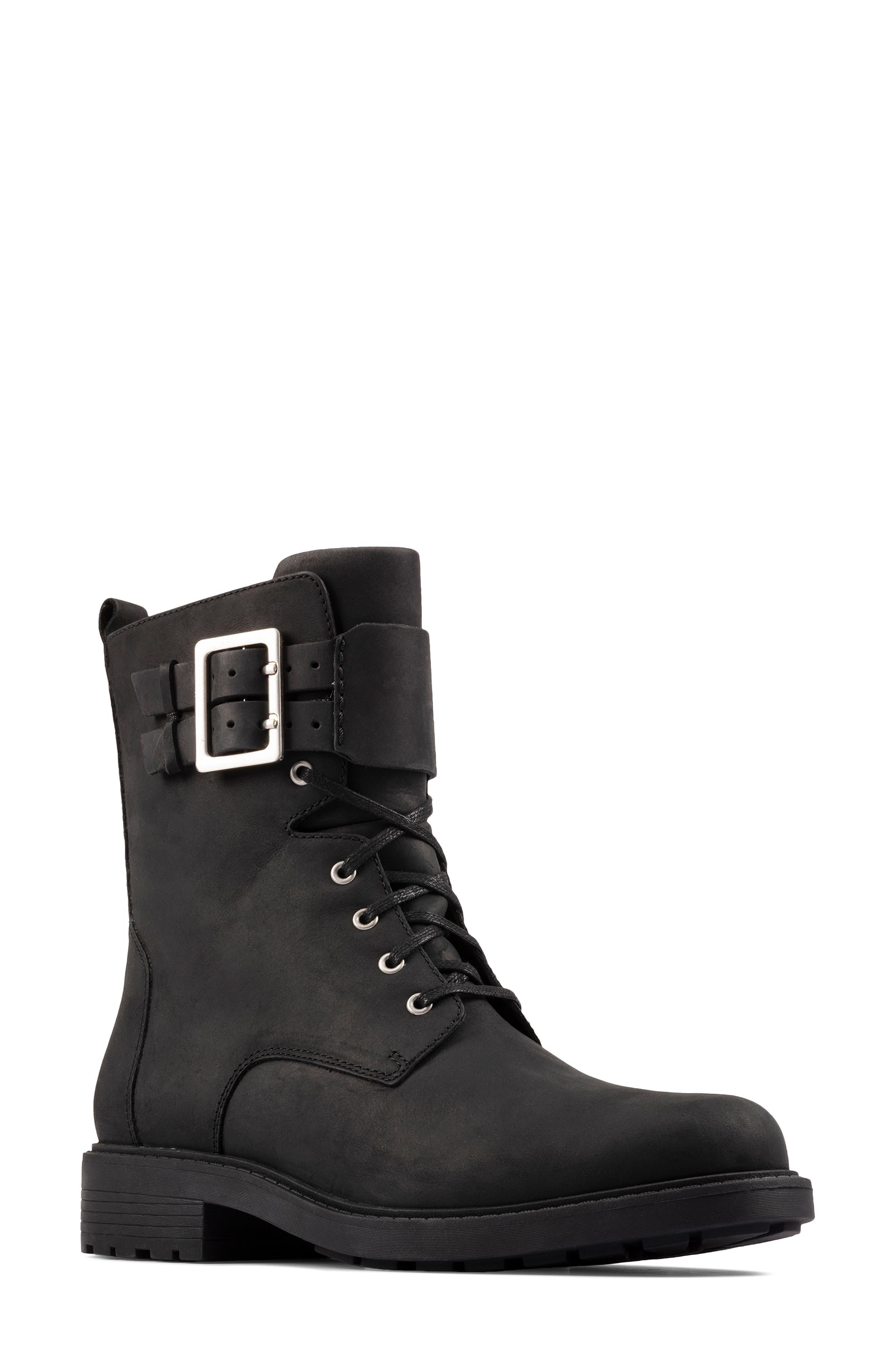 Women's Clarks Orinoco 2 Combat Boot