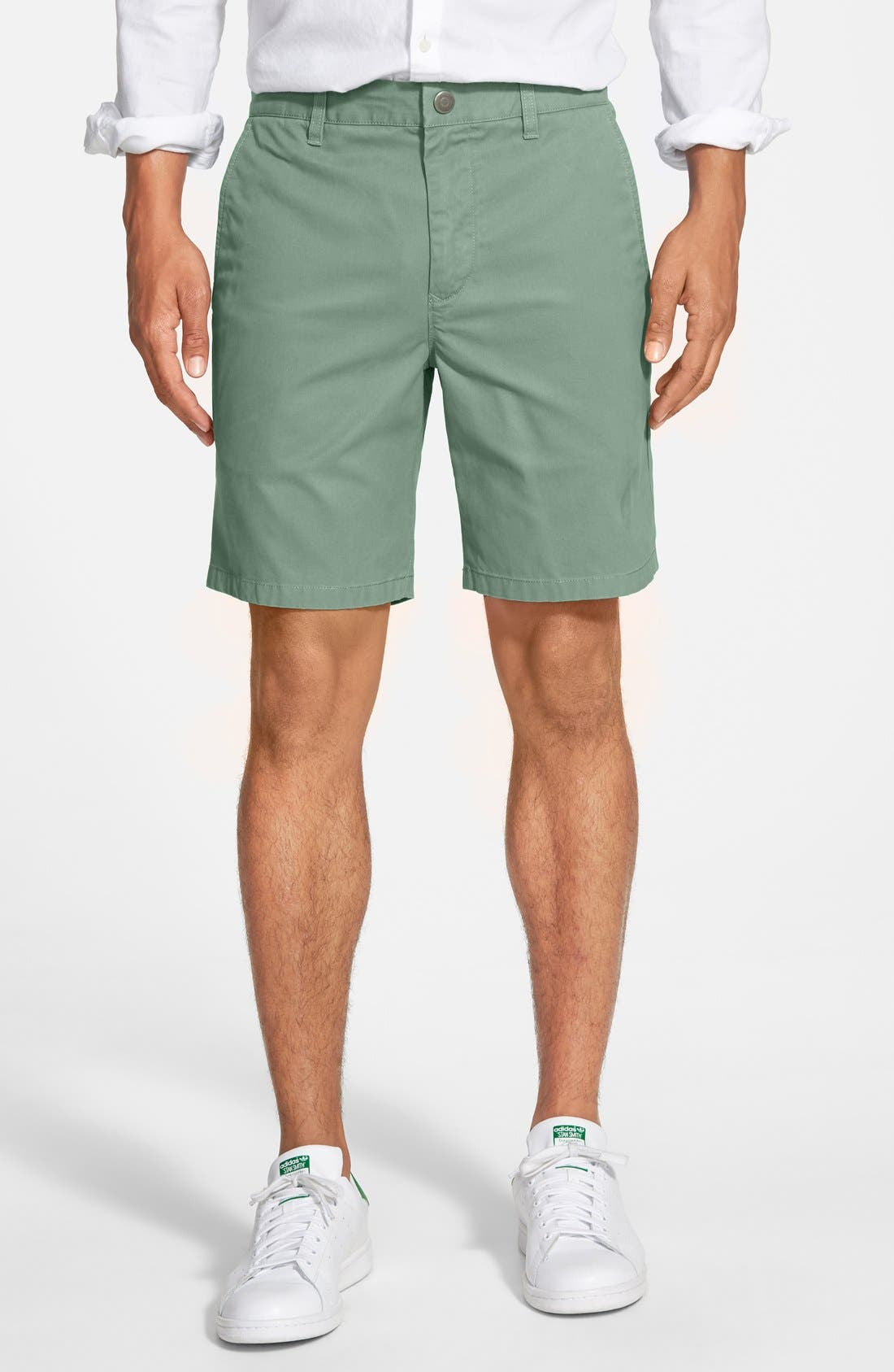 ,                             Washed Chino Shorts,                             Main thumbnail 49, color,                             310
