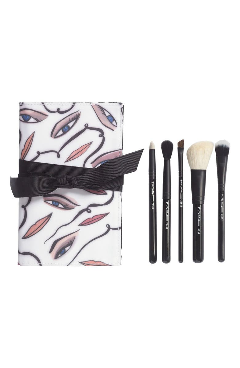 MAC COSMETICS M·A·C 'Illustrated' All Over Brush Kit, Main, color, 000