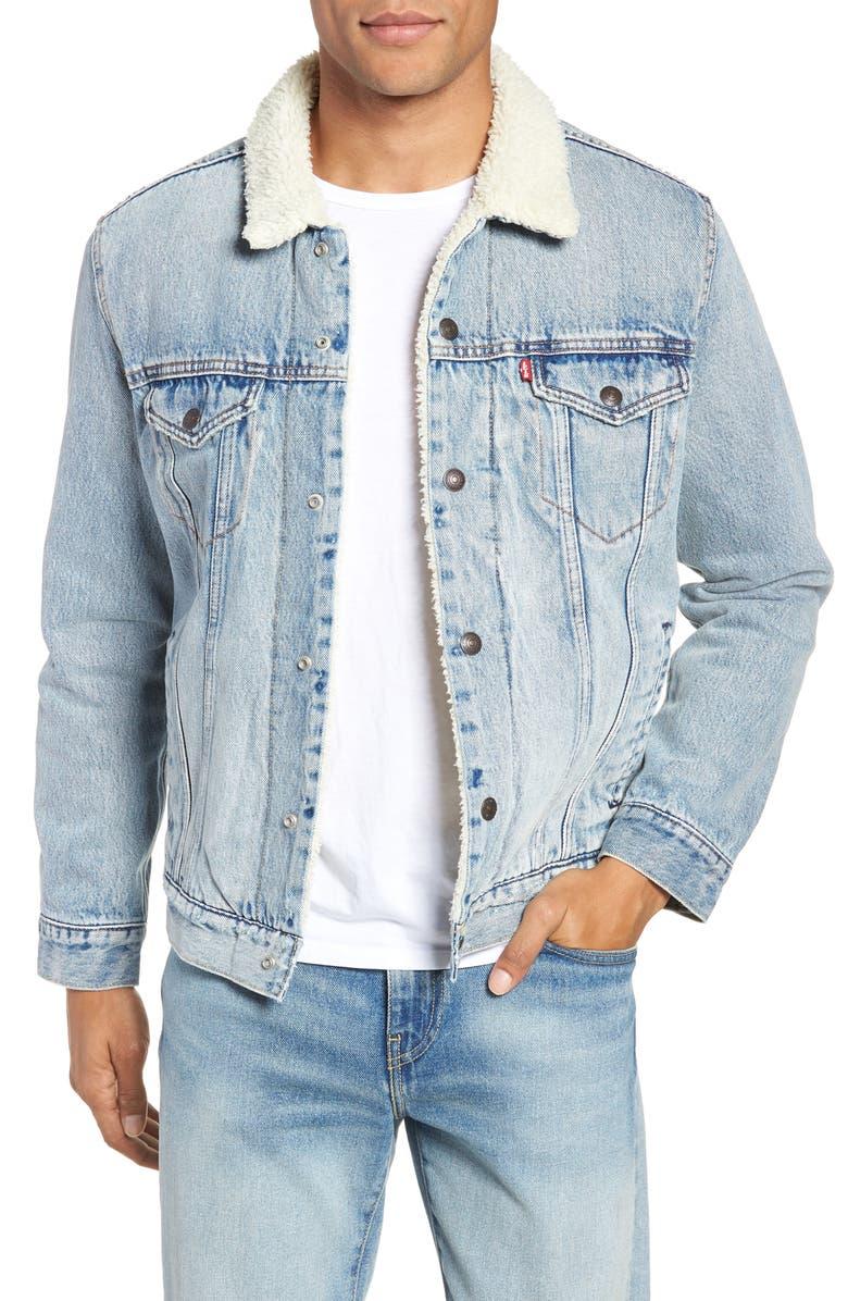 Type 3 Faux Shearling Trucker Jacket