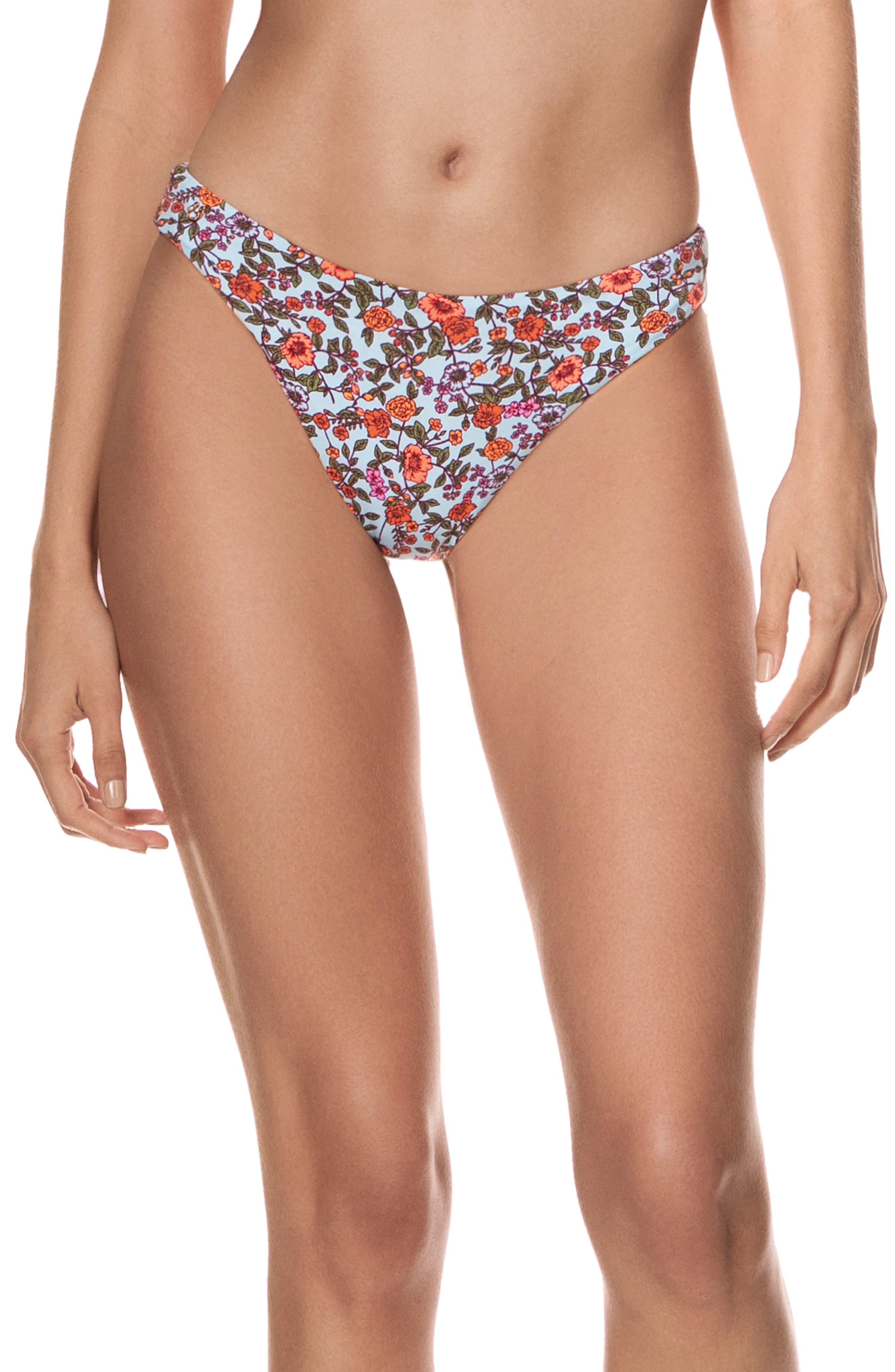 Bloom With Grace Sublimity Reversible Bikini Bottoms