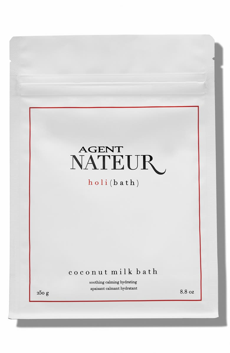 AGENT NATEUR holi(bath) Coconut Milk Bath Soak, Main, color, NO COLOR