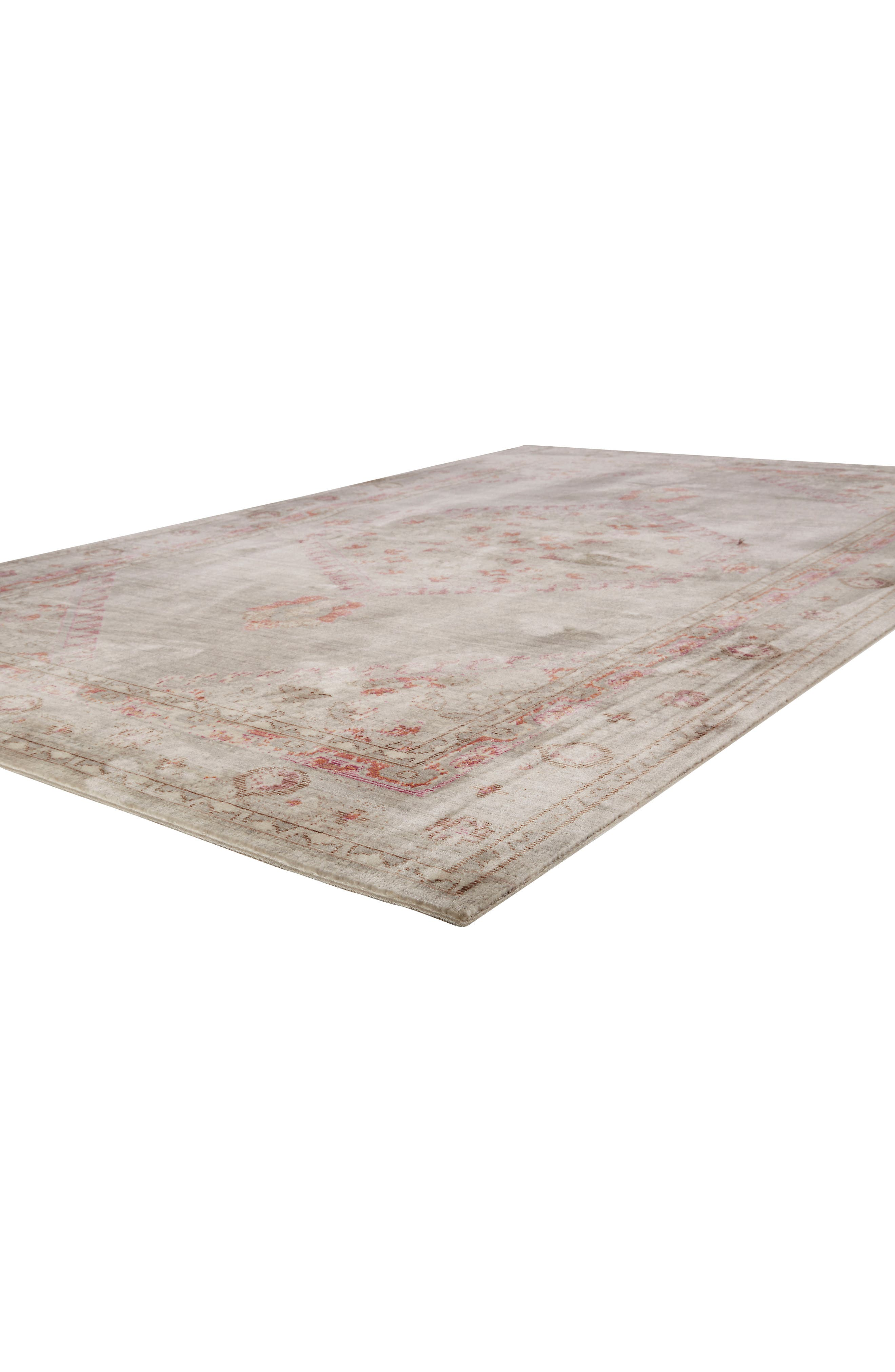 ,                             Contemporary Vintage Rug,                             Alternate thumbnail 2, color,                             PINK/ GREY