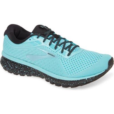 Brooks Ghost 12 Running Shoe, Blue/green