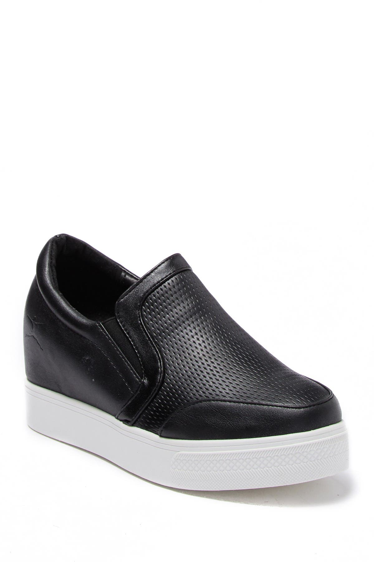 Image of DANSKIN Amaze Textured Wedge Sneaker