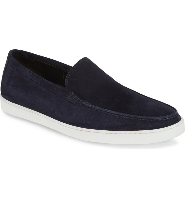 TO BOOT NEW YORK Jet Slip-On, Main, color, BLUE SUEDE/ LEATHER