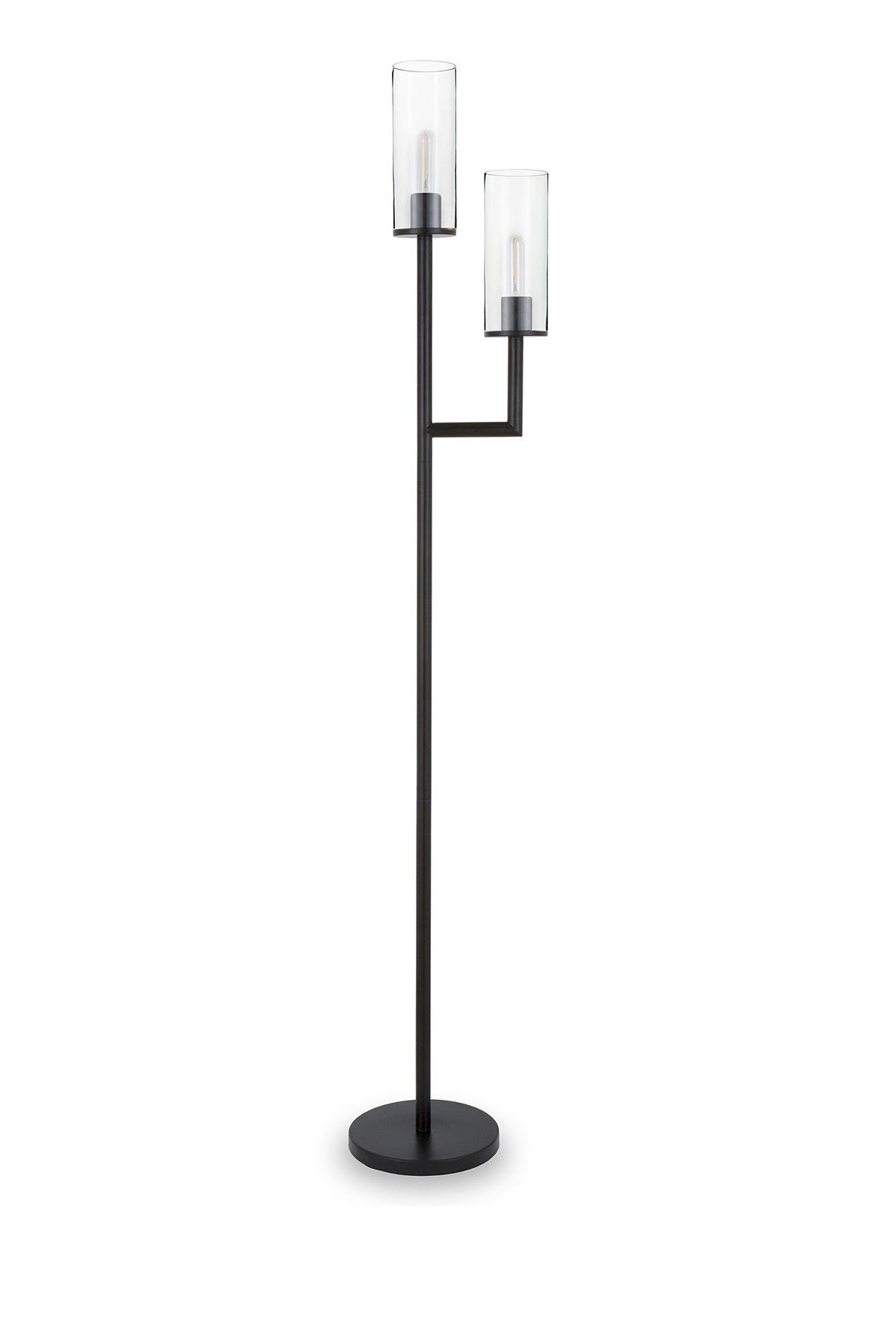 Image of Addison and Lane Basso Floor Lamp with Double Torchiere