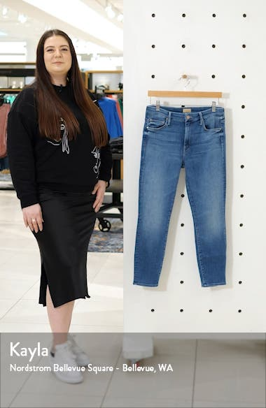 The Looker High Waist Crop Skinny Jeans, sales video thumbnail