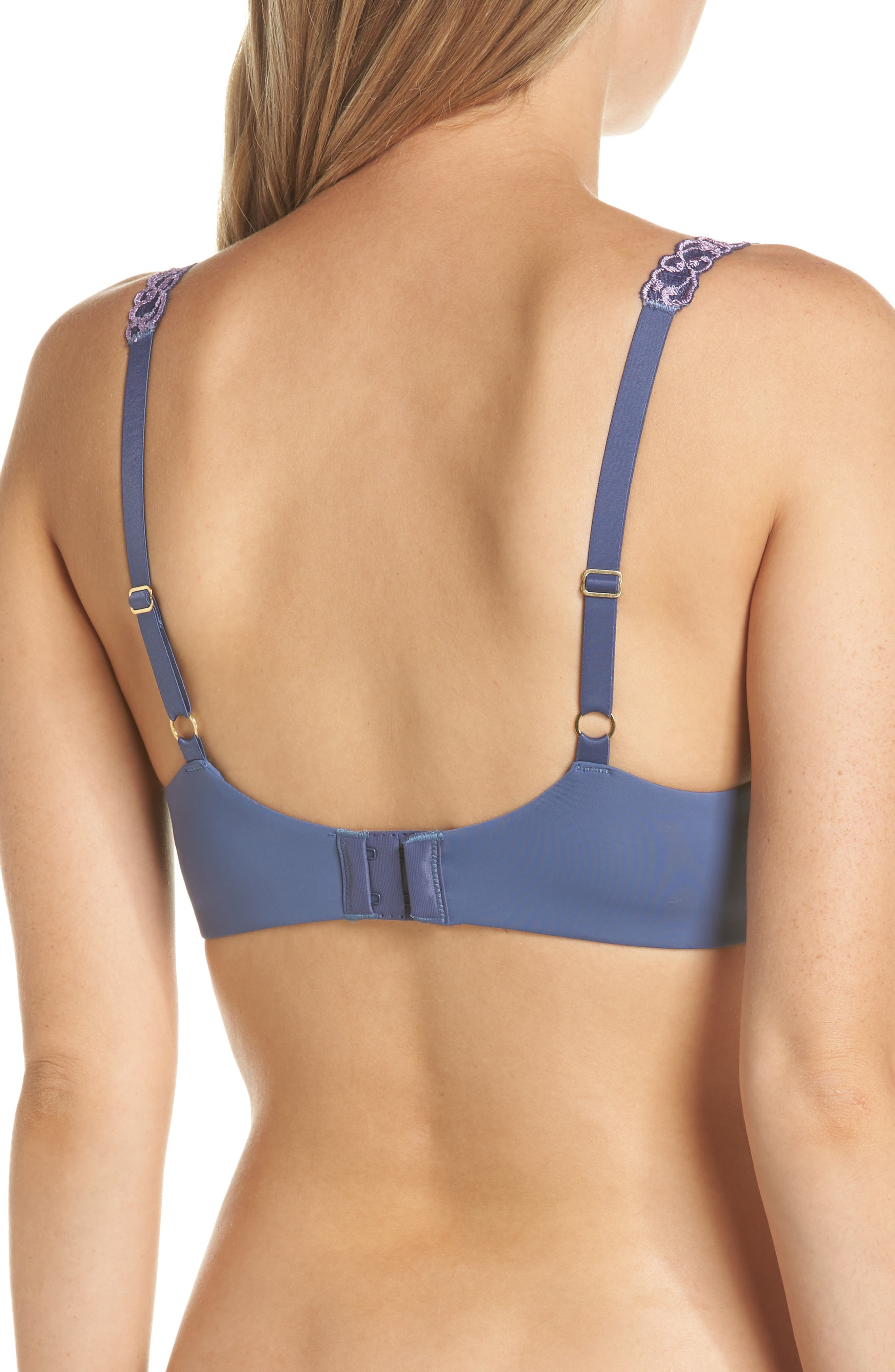 ,                             Pure Luxe Underwire T-Shirt Bra,                             Alternate thumbnail 93, color,                             489