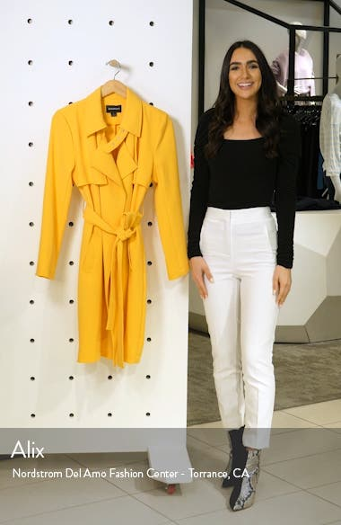 Drapey Trench Coat, sales video thumbnail