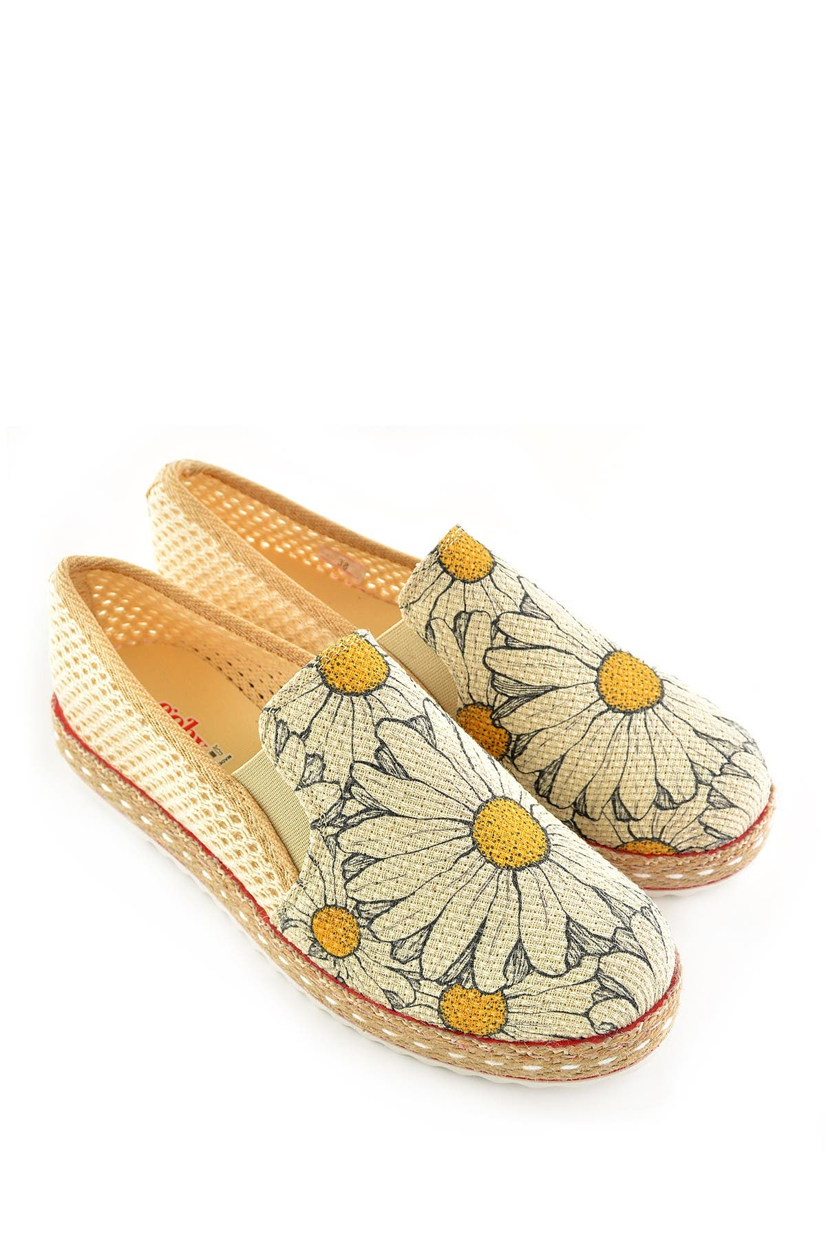 Image of Goby Printed Platform Slip-On Sneaker