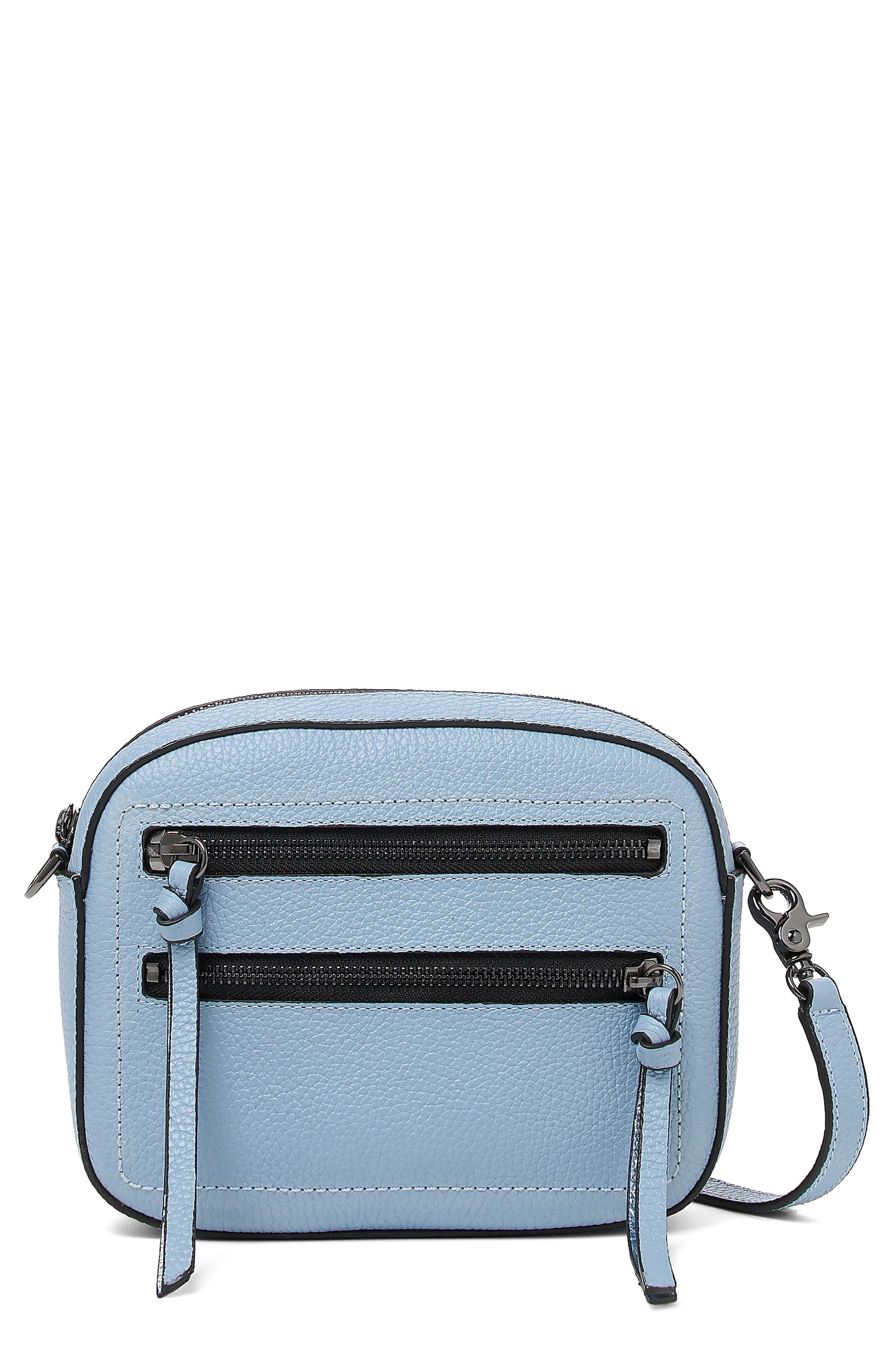 Chelsea Leather Crossbody Camera Bag