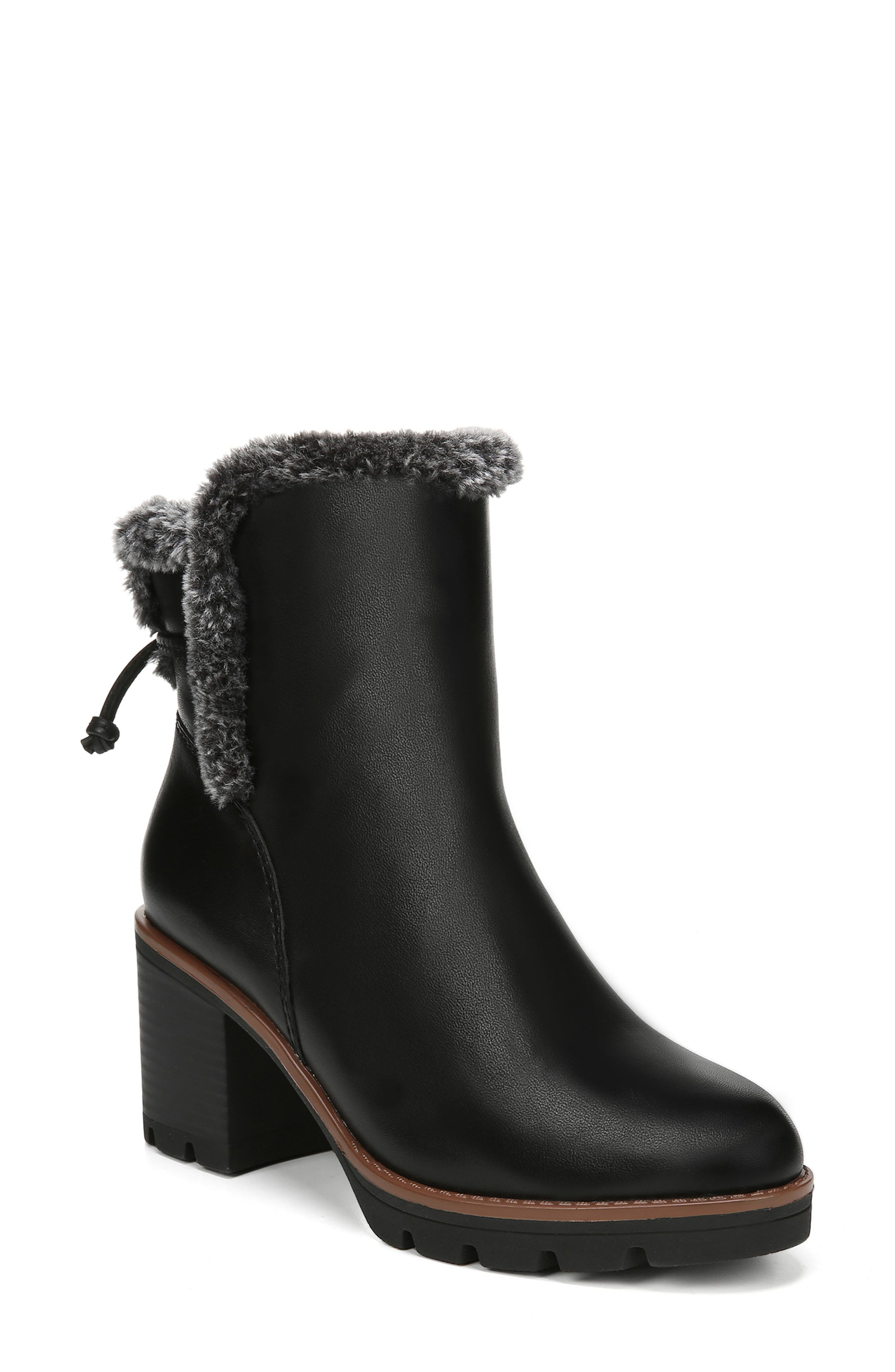 1950s Style Shoes | Heels, Flats, Saddle Shoes Womens Naturalizer Valene Waterproof Bootie Size 8 W - Black $169.95 AT vintagedancer.com