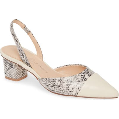 Chinese Laundry Cabella Slingback Pump, Beige