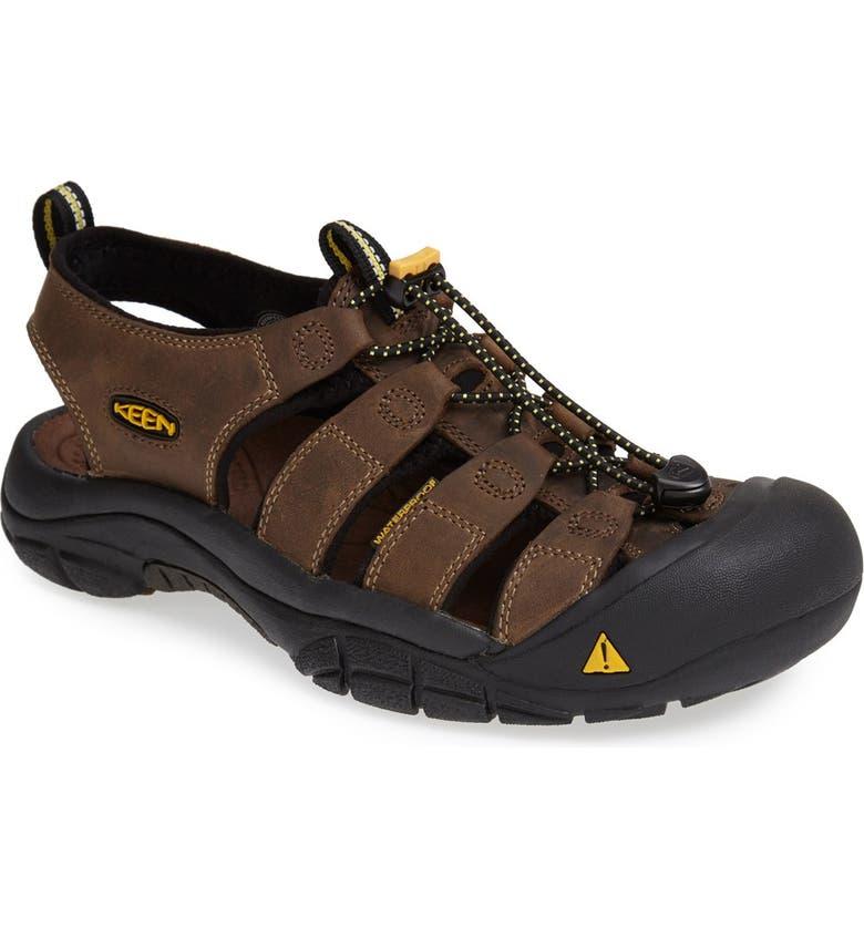 KEEN 'Newport' Sandal, Main, color, BISON