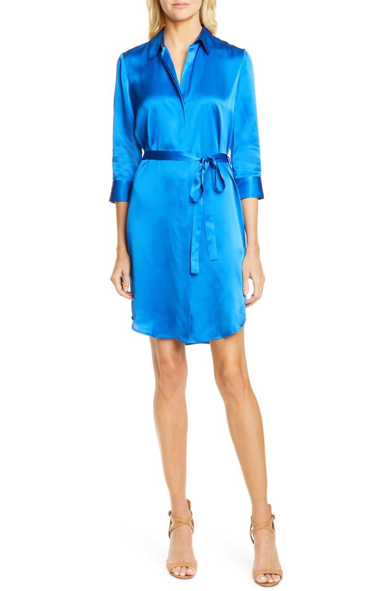 Stella Silk Shirtdress by L'agence