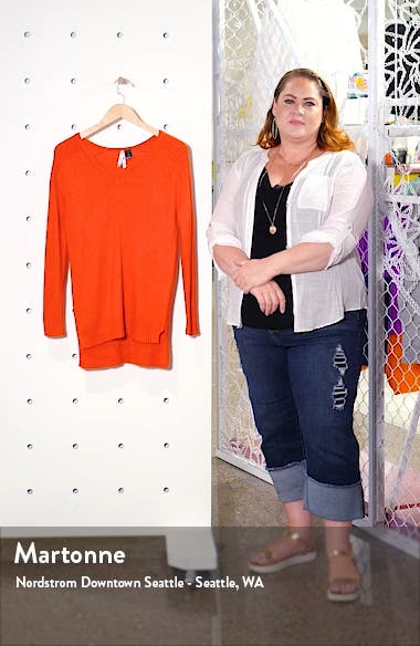 V-Neck Tunic Sweater, sales video thumbnail