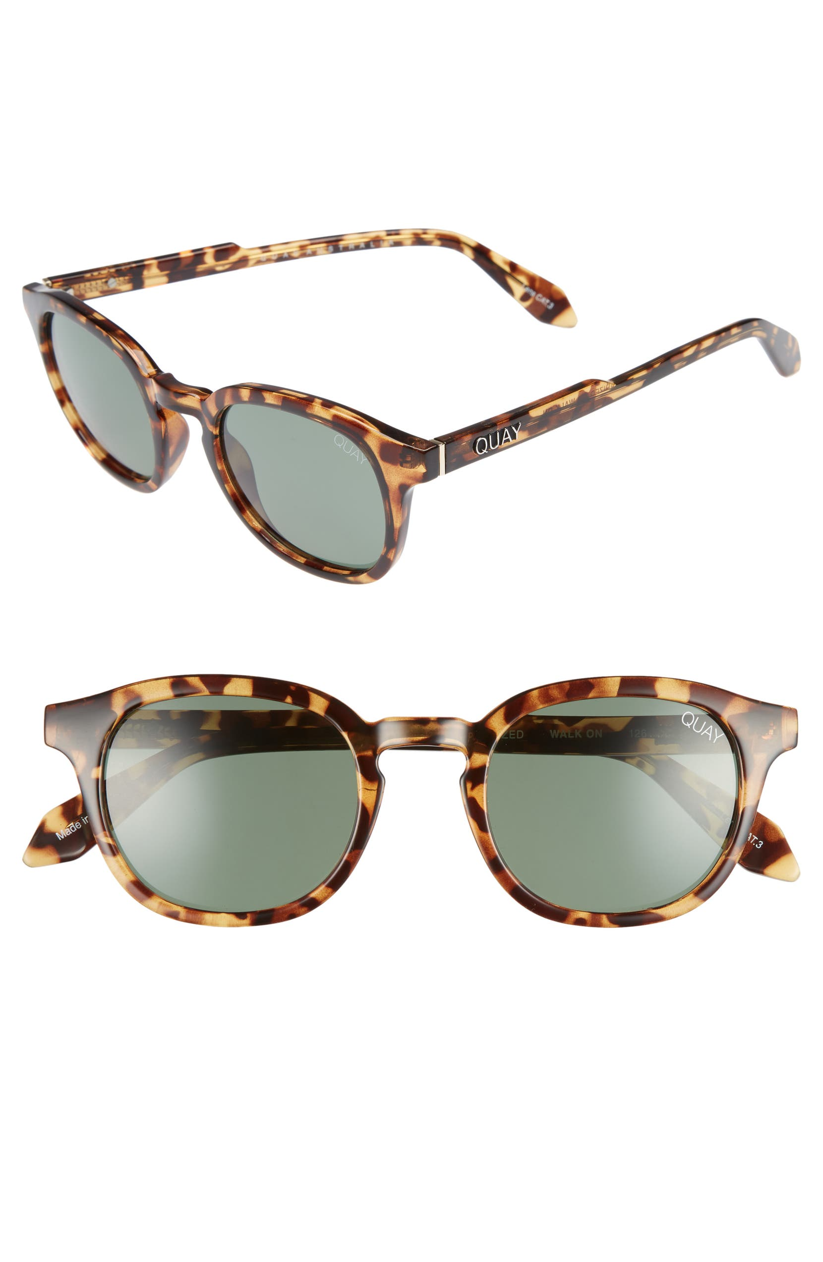 1b7274fd8 Quay Australia Walk On 47mm Polarized Sunglasses | Nordstrom