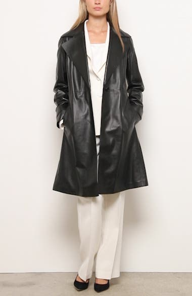 Michael Leather Trench Coat, video thumbnail