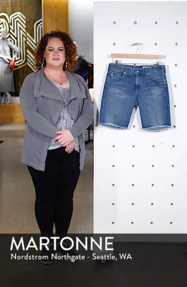 Nikki Relaxed Bermuda Shorts, sales video thumbnail