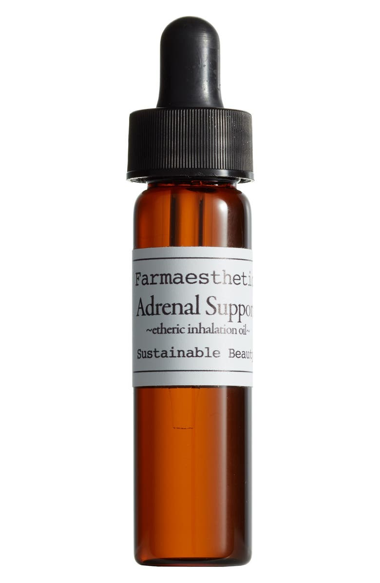 FARMAESTHETICS Adrenal Support Etheric Inhalation Oil, Main, color, NO COLOR