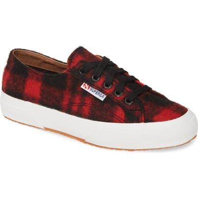 Superga 2750 Shepherdwool Sneaker - Red