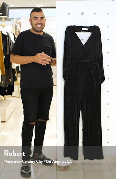 Long Sleeve Open Back Jumpsuit, sales video thumbnail