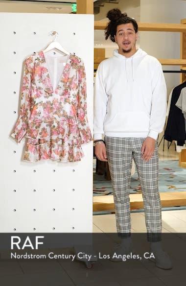 Oblivion Long Sleeve Minidress, sales video thumbnail