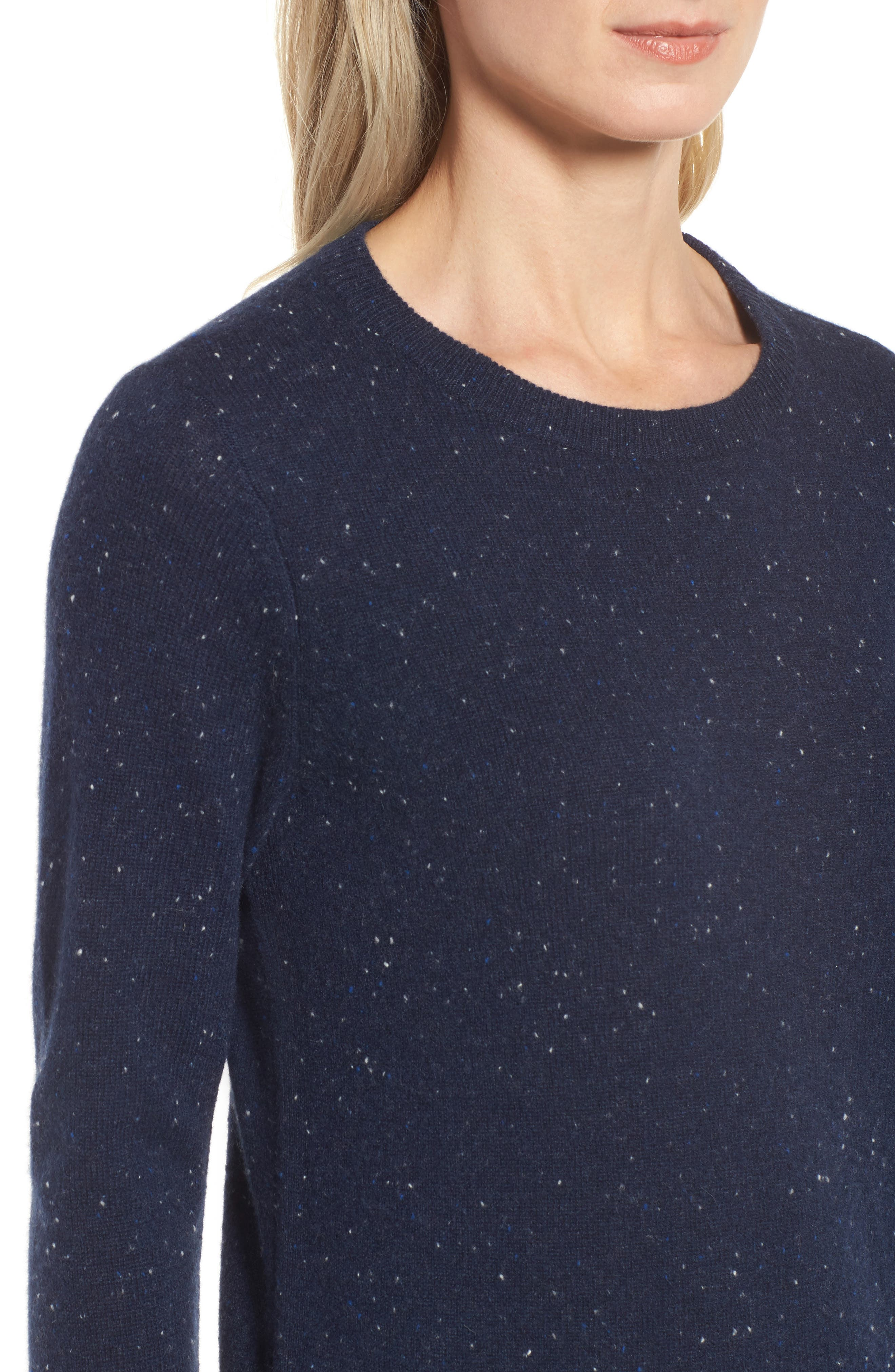 ,                             Crewneck Cashmere Sweater,                             Alternate thumbnail 95, color,                             410