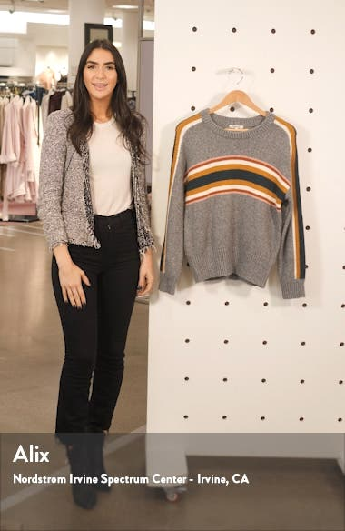 Striped Heath Pullover Sweater, sales video thumbnail