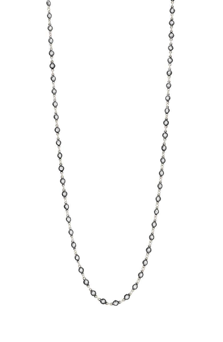 FREIDA ROTHMAN Signature Wrap Necklace, Main, color, BLACK/ WHITE
