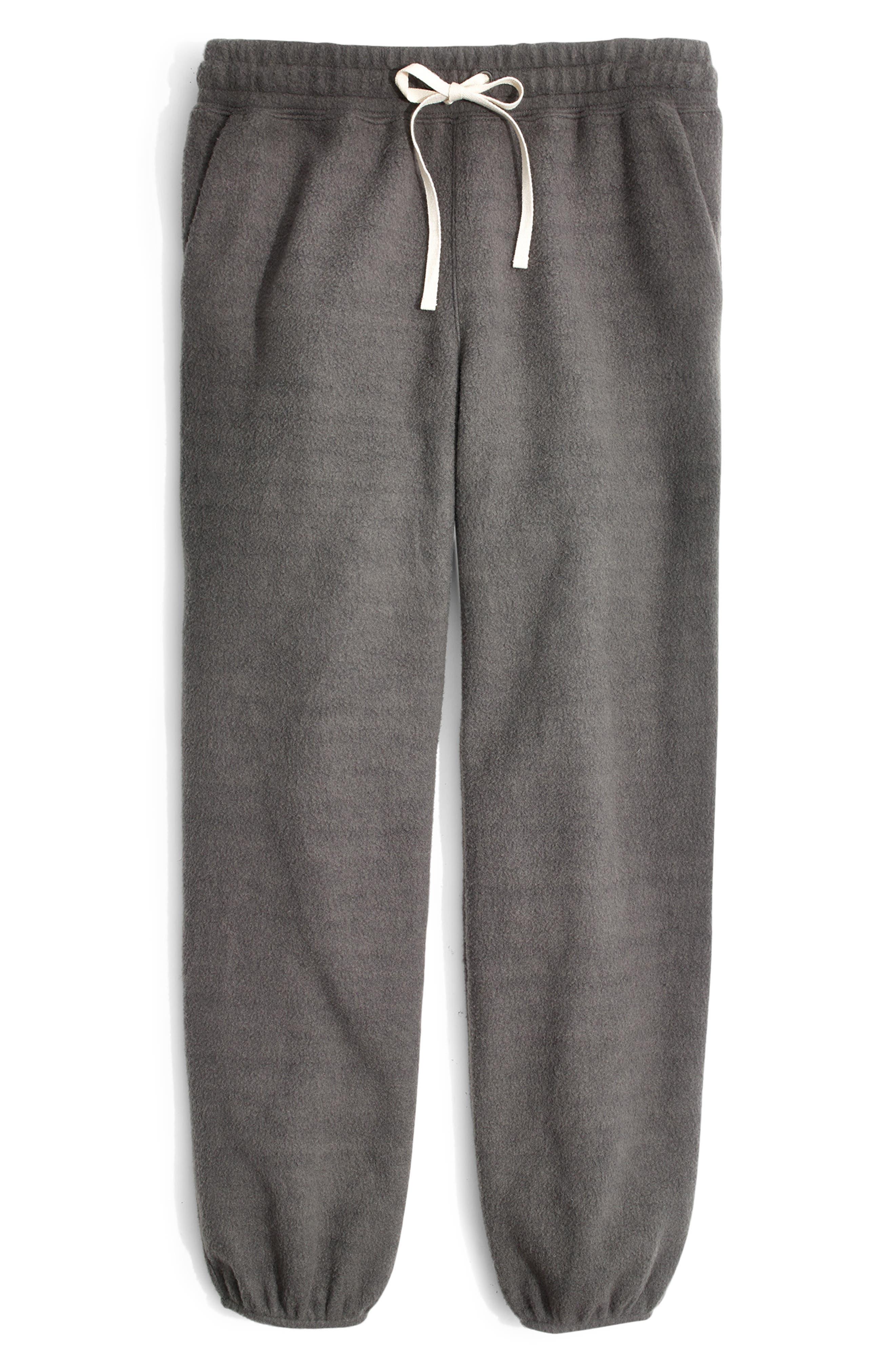 ,                             Fleece Pajama Sweatpants,                             Alternate thumbnail 9, color,                             021