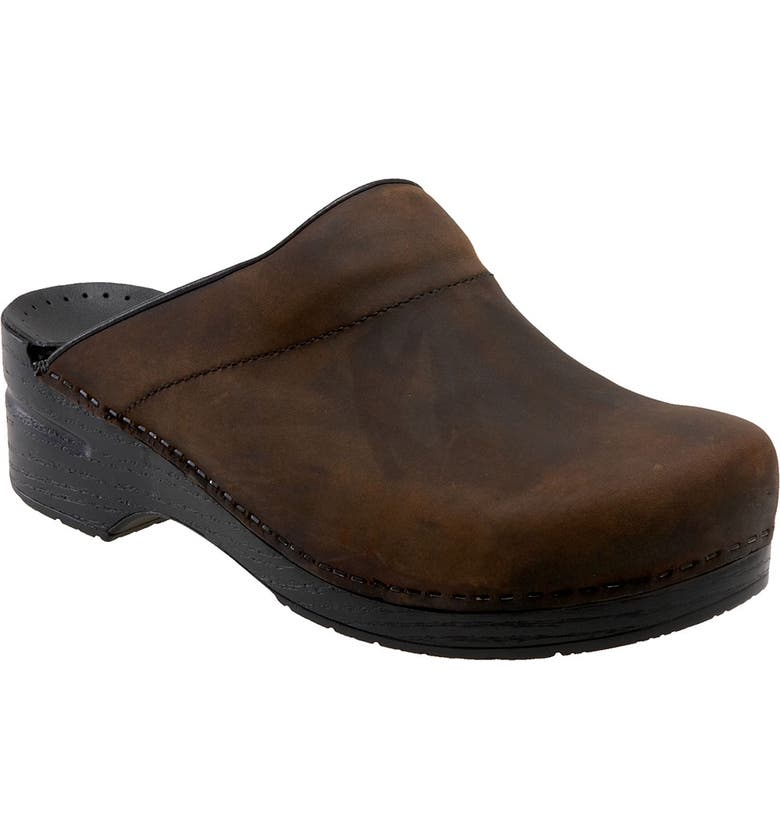 DANSKO 'Karl' Slip-On, Main, color, Antique Brown Oiled