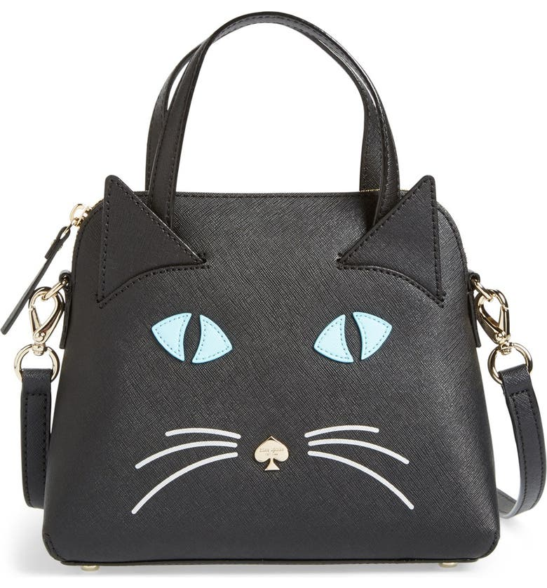 KATE SPADE NEW YORK 'cat's meow - small maise' satchel, Main, color, 001