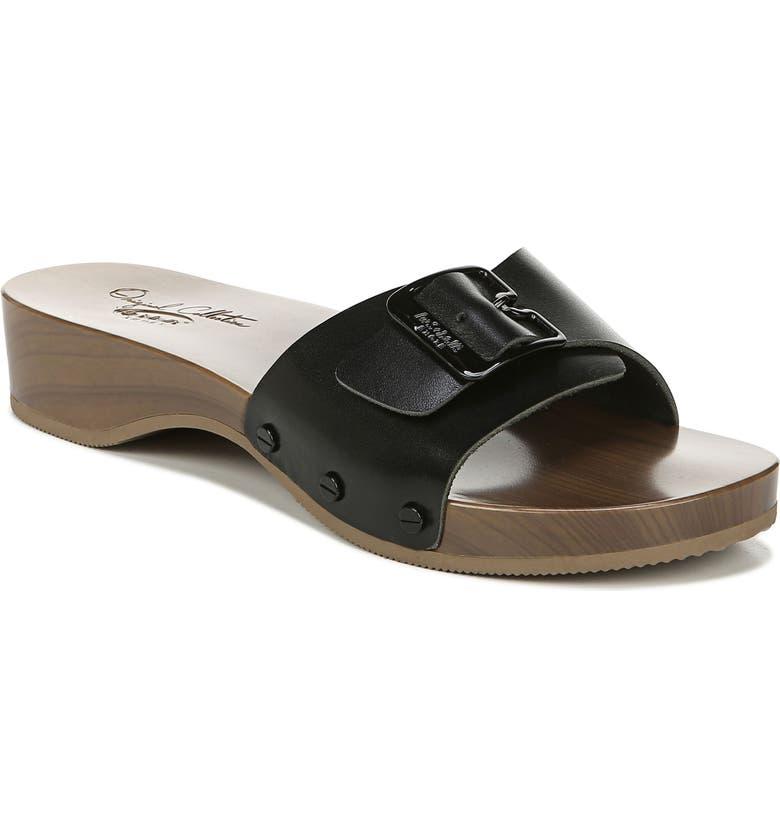 DR. SCHOLL'S It's Better Slide Sandal, Main, color, 002