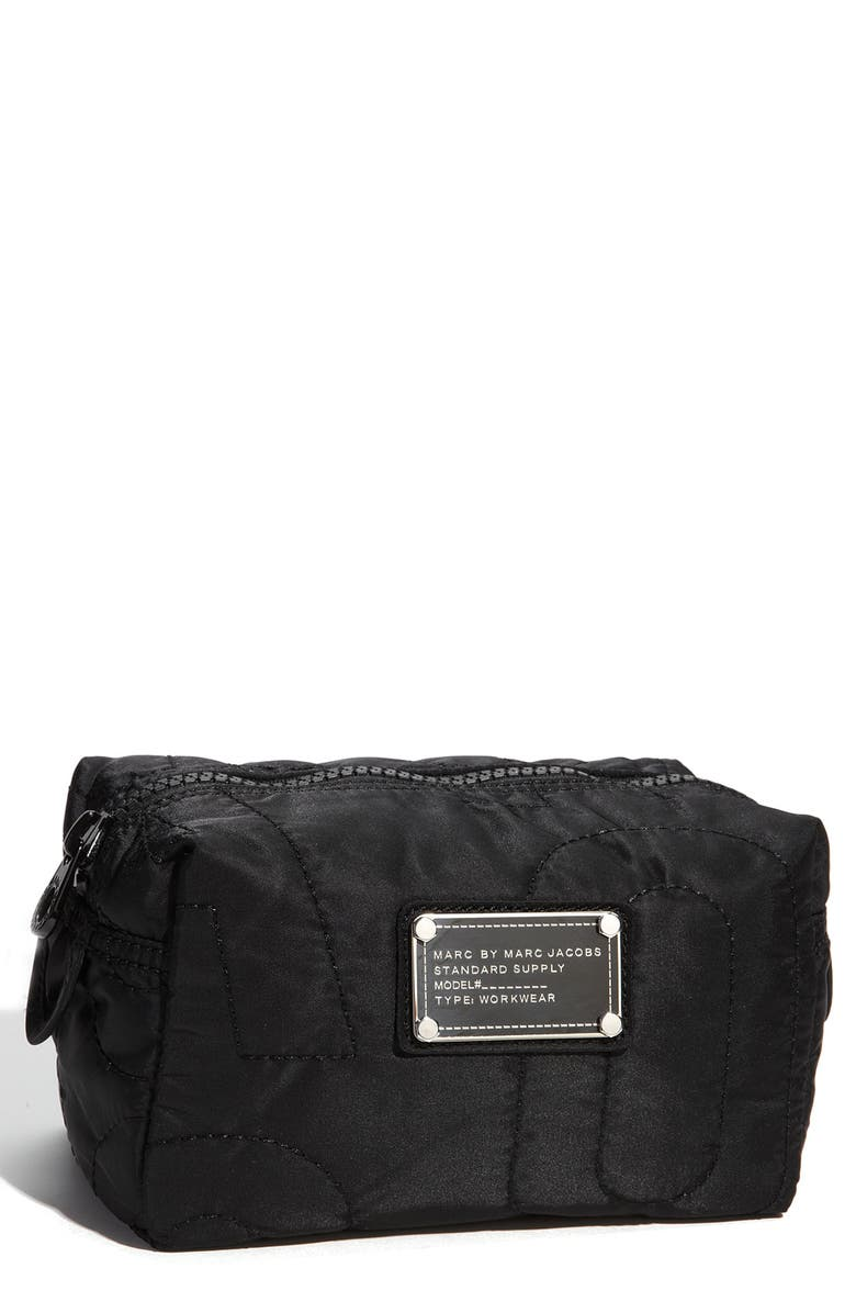 MARC JACOBS MARC BY MARC JACOBS 'Pretty Nylon' Cosmetics Pouch, Main, color, 001