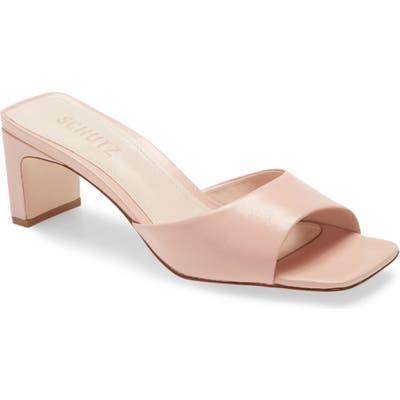 Schutz Queliana Slip-On Sandal, Pink